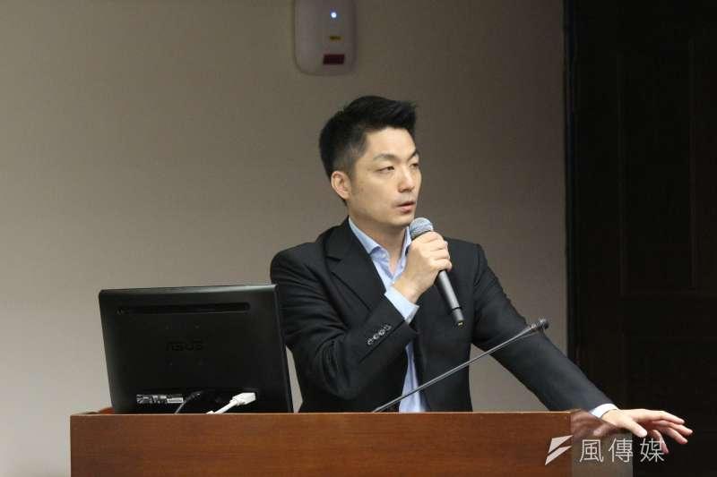 20180528-立法院社會福利及衛生環境委員會邀請勞動部等進行報告並備質詢,立法委員蔣萬安發言。(陳韡誌攝)
