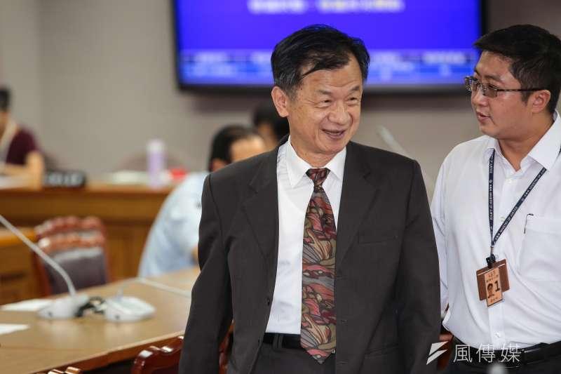 法務部長邱太三將轉任國安會諮詢委員。(資料照片,顏麟宇攝)