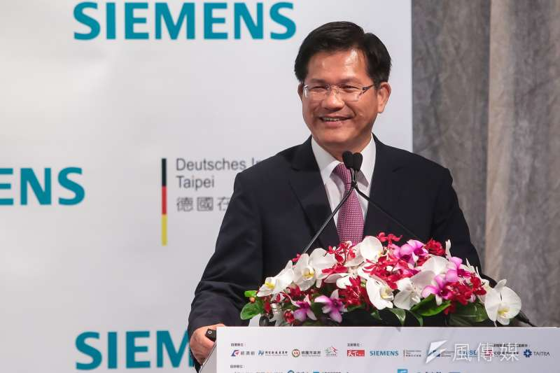 20180607-台中市長林佳龍7日出席「2018台灣永續峰會」。(顏麟宇攝)