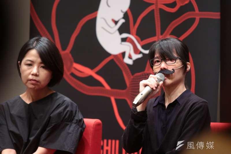 20180609-Youtuber囧星人Kyon9日出席「你的孩子不是你的孩子」淺談親情中的情緒勒索座談。(顏麟宇攝)