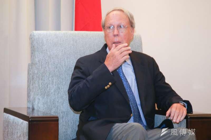 美國在台協會(AIT)前主席薄瑞光表示,《台灣旅行法》即是美方針對台灣受到北京不合理待遇的反應。(資料照,陳明仁攝)
