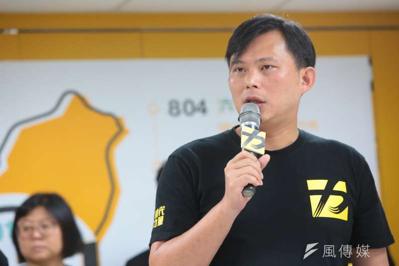 時代力量黨主席黃國昌,推自己助理出來選議員,綠營基層除了錯愕,也頗有微詞。(資料照,顏麟宇攝)