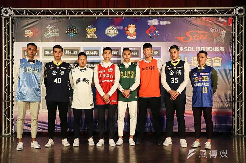 第16季SBL超級籃球聯賽新人選秀會今天落幕,由來自國立體大的陳昱瑞成為狀元,健行科大的簡祐哲成為榜眼。(圖/記者余柏翰攝)
