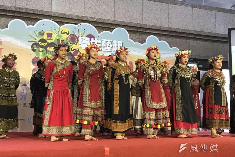 屏東縣瑪家國中合唱團等隊伍,暑假將到國內、外演出。(吳尚軒攝)