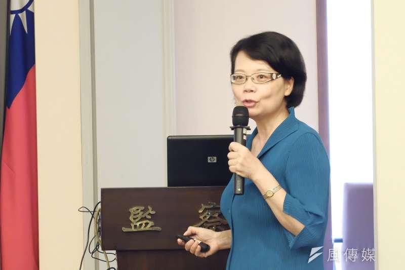 20180808-監察委員王美玉。(謝孟穎攝)