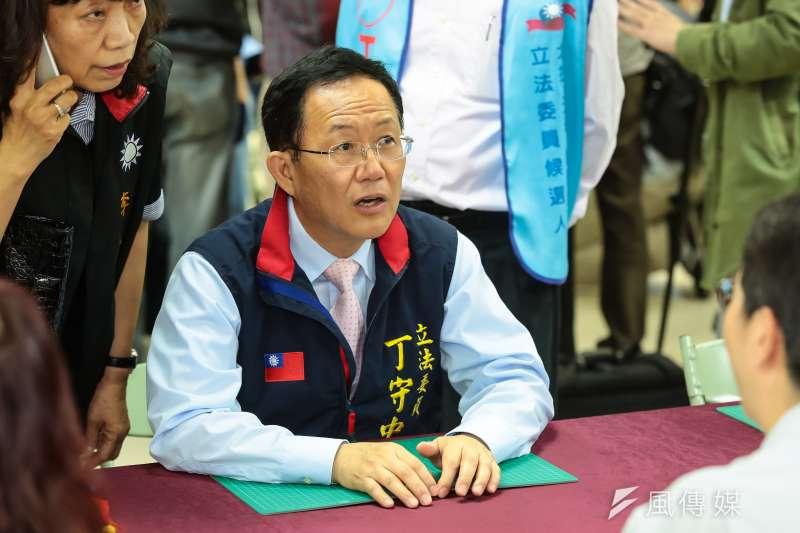 台北市立委候選人丁守中。(顏麟宇攝)