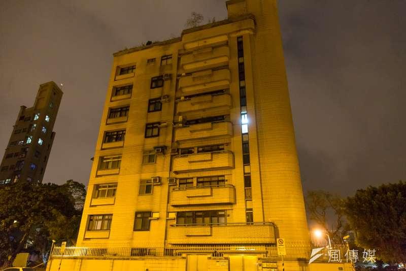 杭州南路二段51巷,檢察官一至三期職務宿舍。(顏麟宇攝)