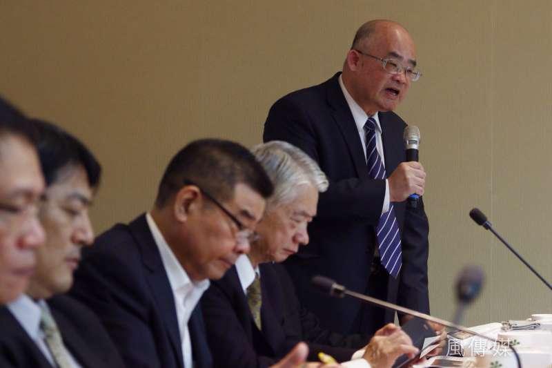 20170322台北市公私力改革都更效能對策研商會議。台北市不動產開發商業同業公會秘書長于俊明。