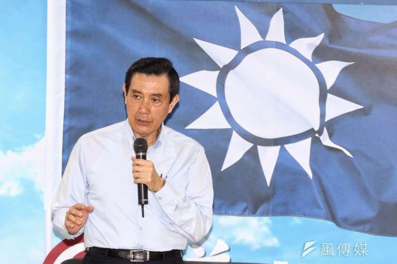 20170519國民黨主席候選人吳敦義與歷任內閣聚會,馬英九出席