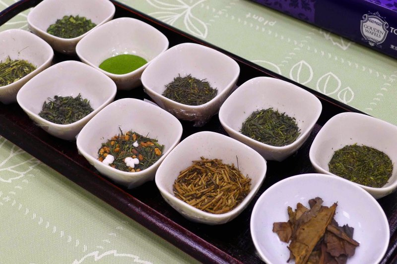 日本茶,茶味沈靜內歛,內涵卻波濤洶湧
