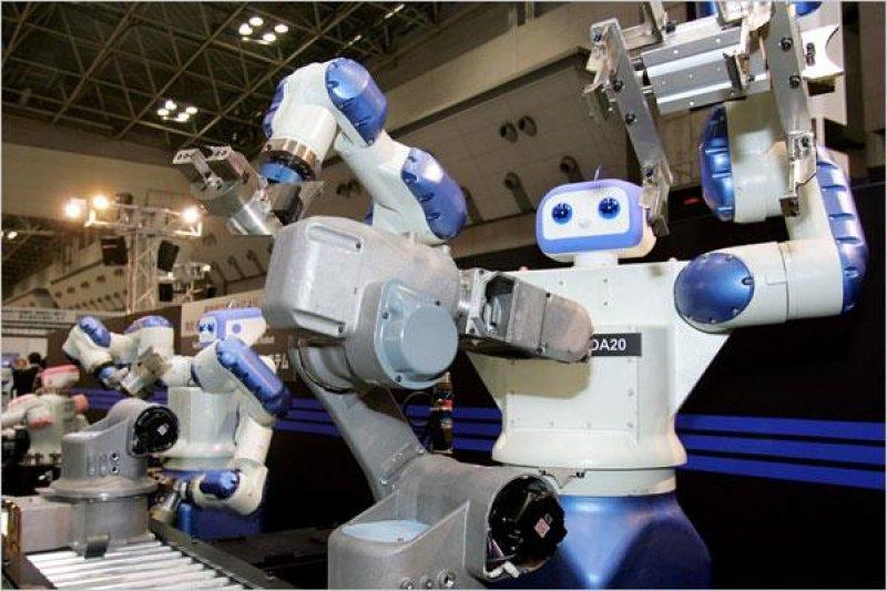 當所有的生產和服務都由機器人提供時,這就是人類經濟學的終局,一個生產力無限大的世界。( 取自騰訊科技網)