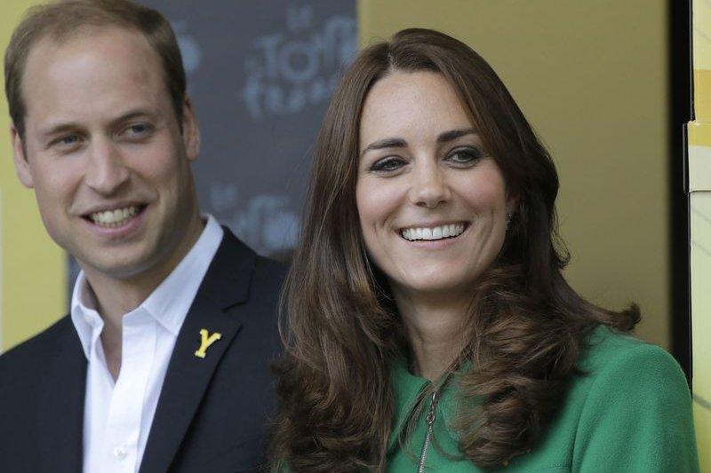 英國劍橋公爵威廉王子與劍橋公爵夫人凱特將迎接第三胎(AP)