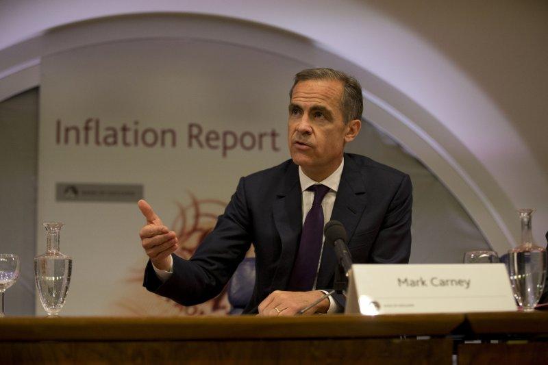 現任英格蘭銀行總裁卡尼(Mark Carney)。(美聯社)