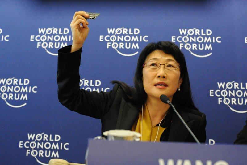 宏達電近日股票大跌,董事長王雪紅亦頗受責難,但眾多董事長對hTC表示的未來表示樂觀。(取自維基百科)