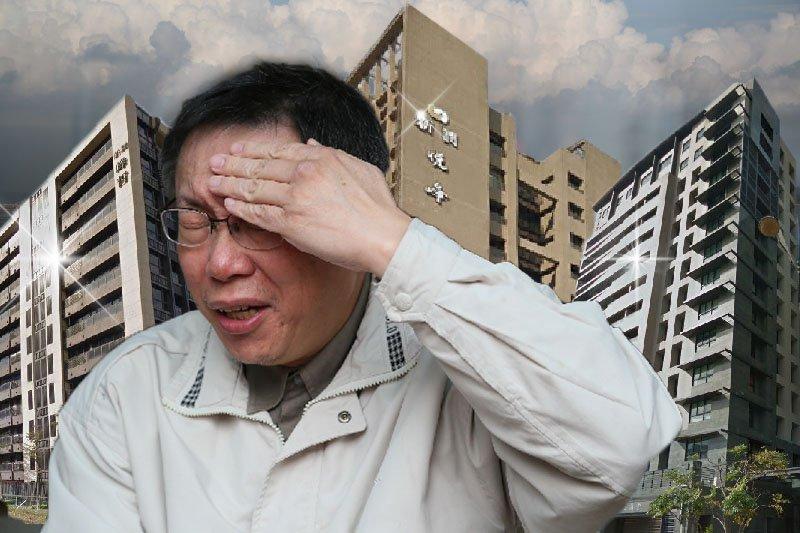 台北市府對違法工業住宅開鍘,但建商集體集體提起行政訴訟,要求行政法院撤銷原處分,並改罰住戶,讓北市府相當頭痛。(風傳媒資料照片、取自Google Map/影像合成:風傳媒)