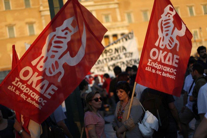 希臘債務危機,許多民眾仍然堅持反撙節(美聯社)