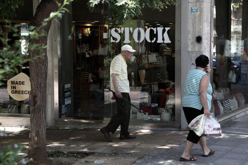 希臘深陷債務危機,民生凋敝(美聯社)