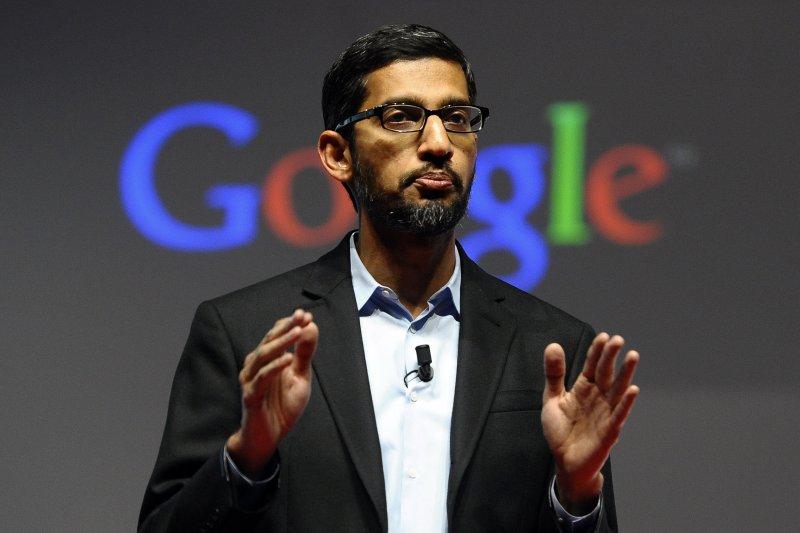Google執行長皮猜(Sundar Pichai)(美聯社)