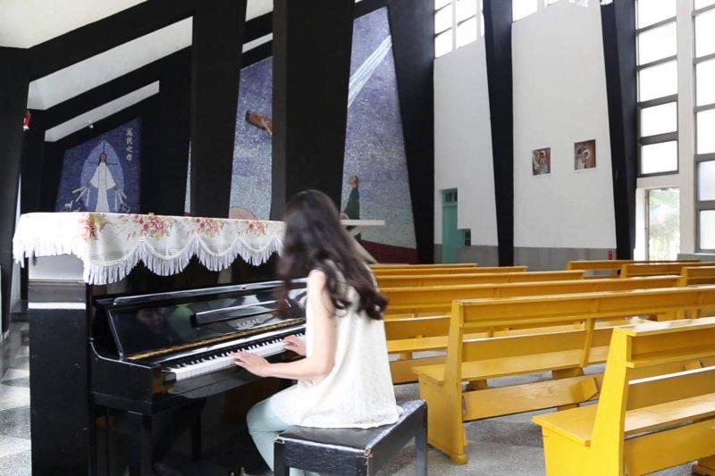南台灣最美麗的教堂「聖奧德天主堂」(取自網路)