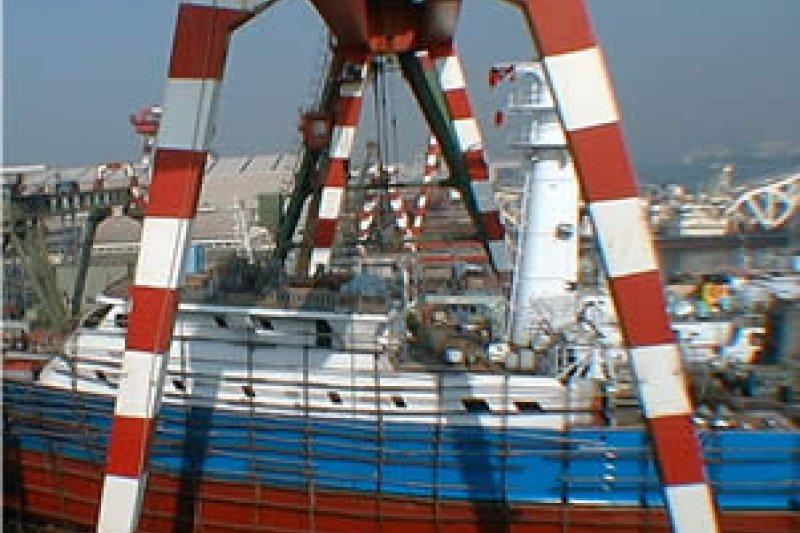 本業是修造漁船的慶富,標下國艦國造大案,結果麻煩愈爆愈多。(取自慶富造船官網)