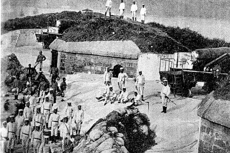 過去日本步兵第八聯隊創下未曾戰敗的榮耀,圖為示意圖。(資料照,維基百科)