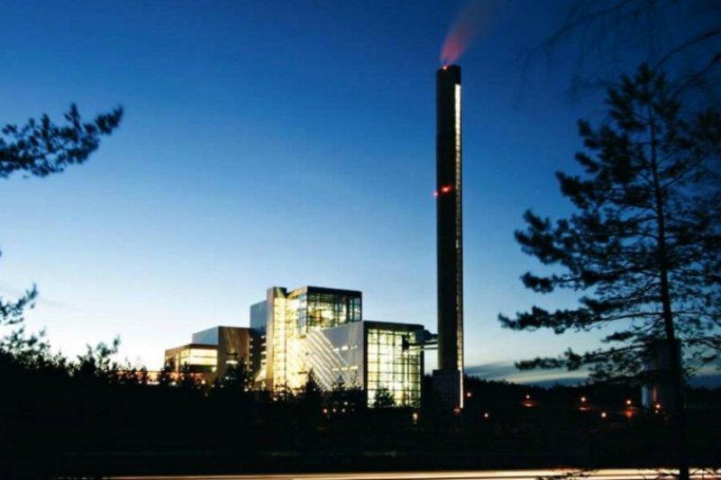 瑞典的垃圾焚化爐宛如裝置藝術 (圖/ avfallsverige.se)