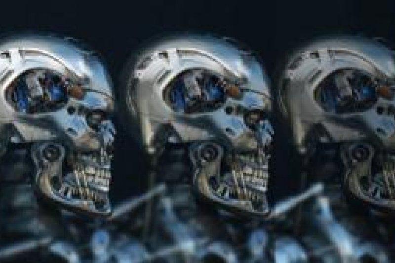 人工智慧打造殺手機器人跨越人類道德備受爭議(取自推特圖片)