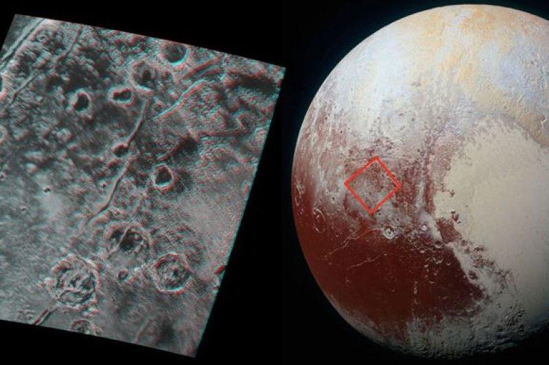 新視野號拍攝的冥王星(NASA)