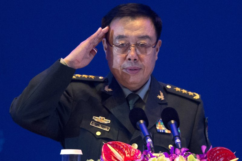 中國國家中央軍委副主席范長龍(美聯社)