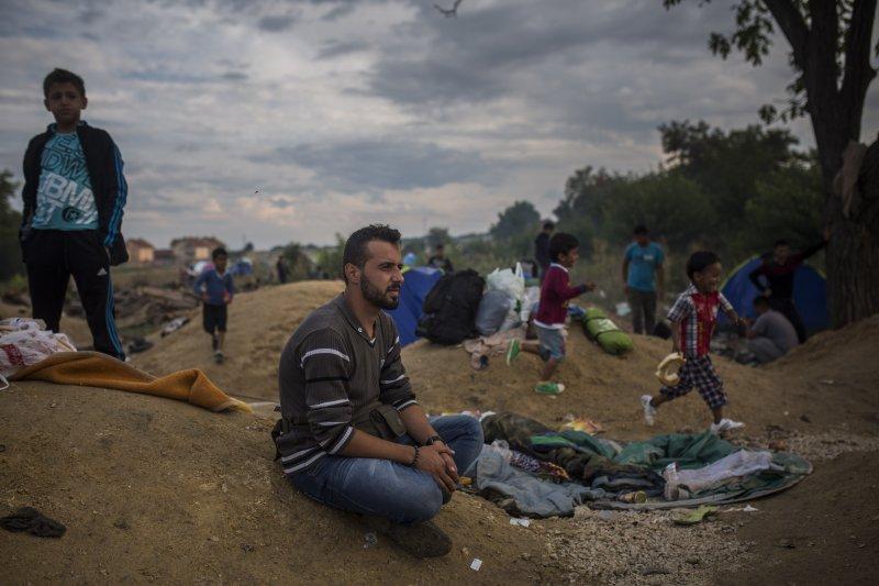 流離歐洲的敘利亞難民(美聯社)