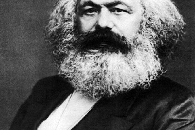 社會主義學家馬克思(Karl Marx)。(取自維基)