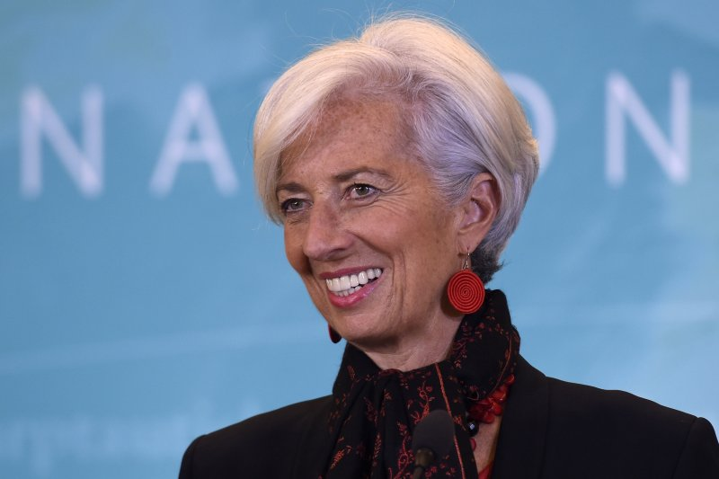 IMF總裁拉加德((Christine Lagarde)30日宣布,人民幣加入IMF特別提款權(美聯社)