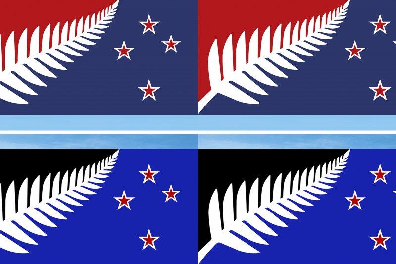 紐西蘭新國旗究竟會是哪一幅呢?預計15日就會公布最後結果(美聯社)