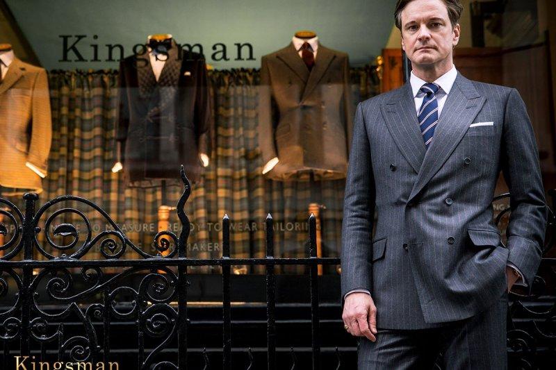 有品味的男人該有一套適合自己的戰袍(圖片取自Kingsman: The Secret Service官方臉書)