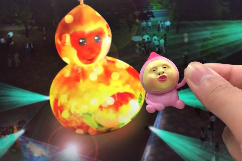 一樣都評為「醜」,來自日本的醜比頭卻在台灣大受歡迎(圖/露榭提供)