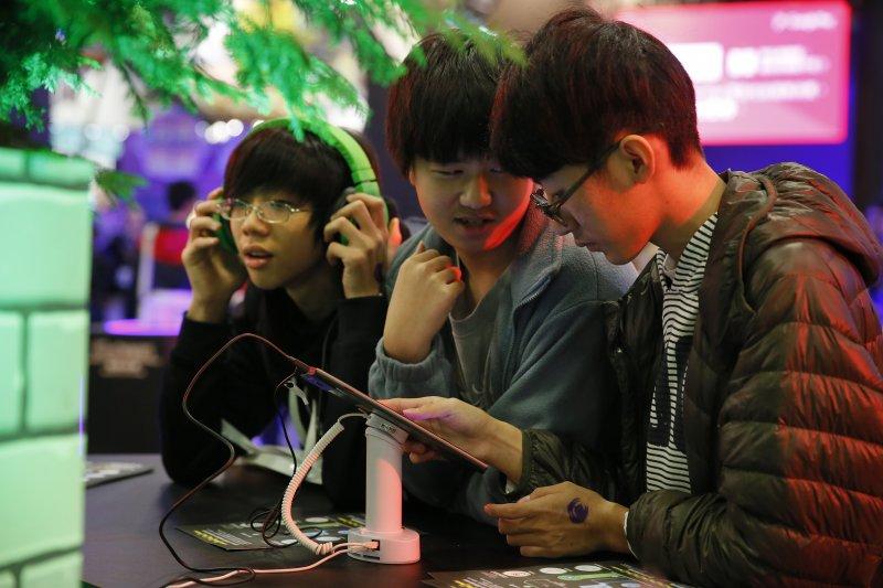 2016年台北國際電玩展Taipei Game Show 2016 電腦展(美聯社)