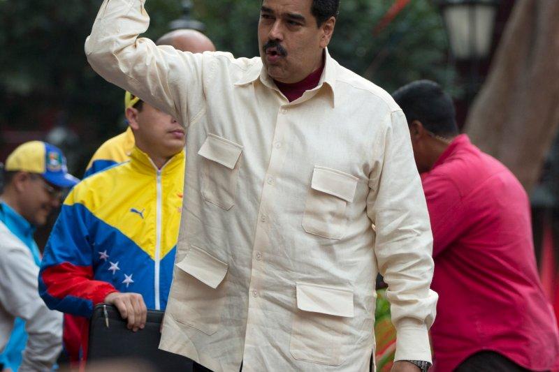 委內瑞拉總統馬杜洛(Nicolas Maduro)面臨罷免危機。(美聯社)
