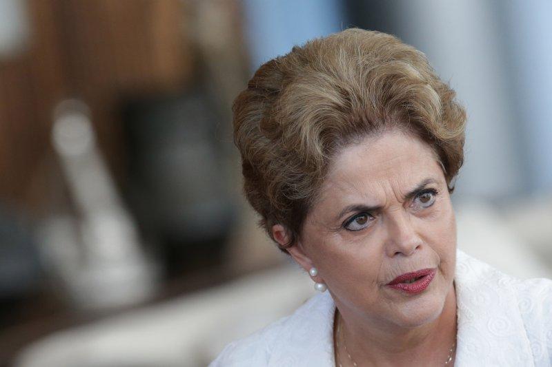 遭到彈劾停職的巴西總統羅賽芙。(美聯社)
