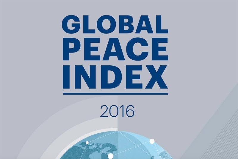 2016全球和平指數下滑主要是因為恐怖主義威脅,而過去10年暴力所帶來的經濟代價更比2015年全球GDP還高。(圖/擷自GPI 2016 Report)