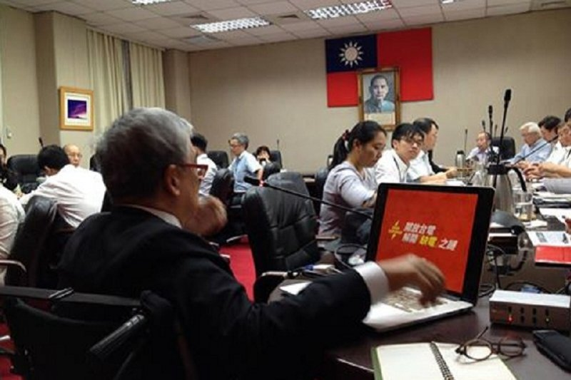 前國策顧問郝明義發起「開放台電」活動。(來源:開放台電臉書粉頁)