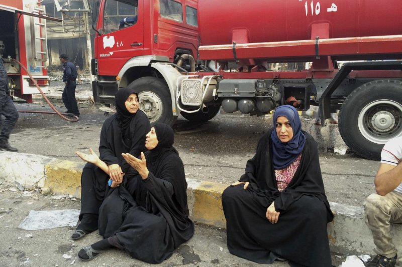 伊拉克首都巴格達又發生恐怖攻擊,死傷近200人,伊斯蘭國宣稱犯案(美聯社)