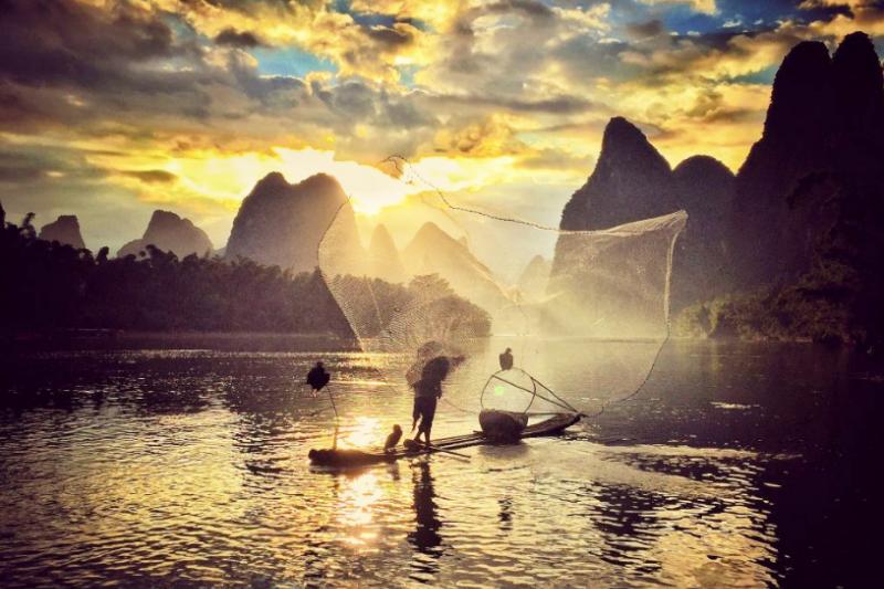 IPPAWARDS是限定以iPhone拍攝的攝影競賽,此圖為「夕陽」類第二名作品。Photo credit: Yongmei Wang/IPPAWARDS