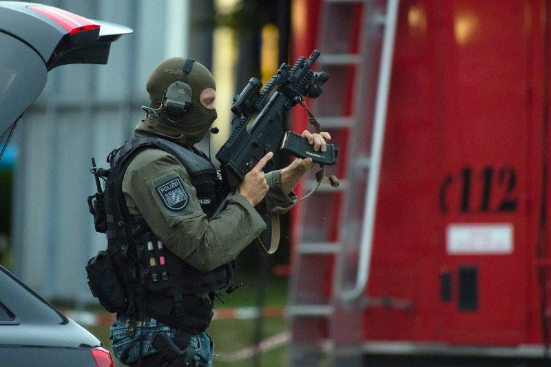 慕尼黑槍擊案。(美聯社)