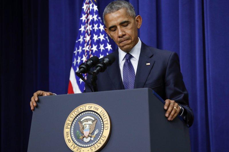 歐巴馬談慕尼黑槍擊案。(美聯社)