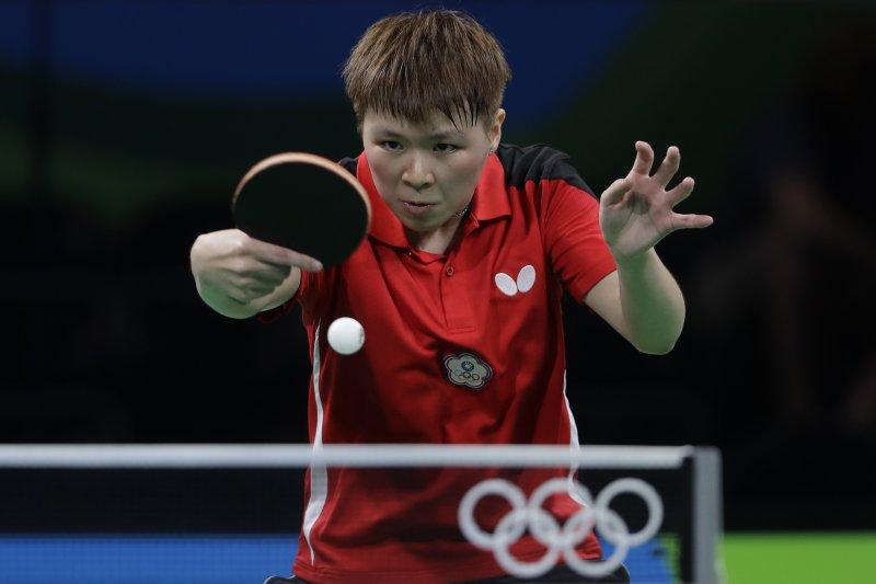 台灣桌球選手陳思羽因桌協處理機票問題,在日本結束比賽後,無法直飛成都,而必須先回台灣再飛成都。(美聯社)