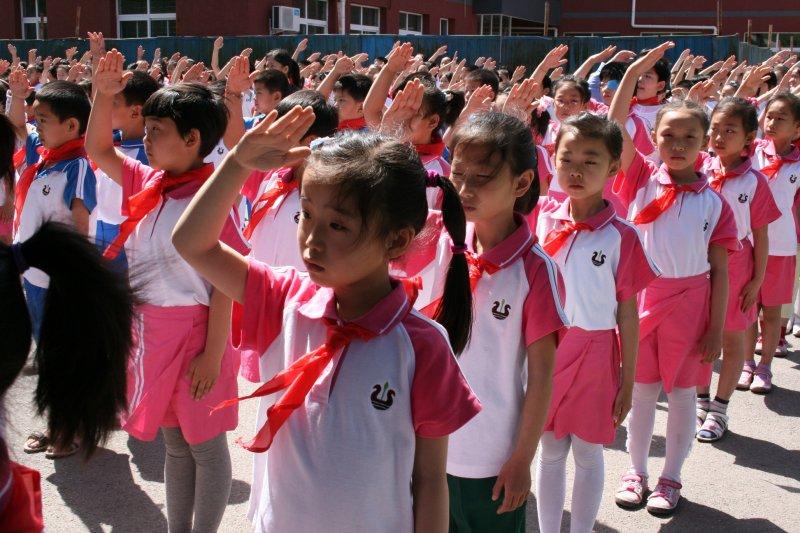 學校系統一百五十年不變,用同樣的教材教法教導一班二十個心靈完全不同的學生。(資料照,取自網路)