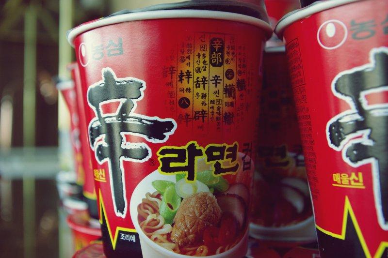 韓國人愛泡麵,每年吃下72碗,是世界平均值的五倍!(圖/Matt@PEK@flickr)