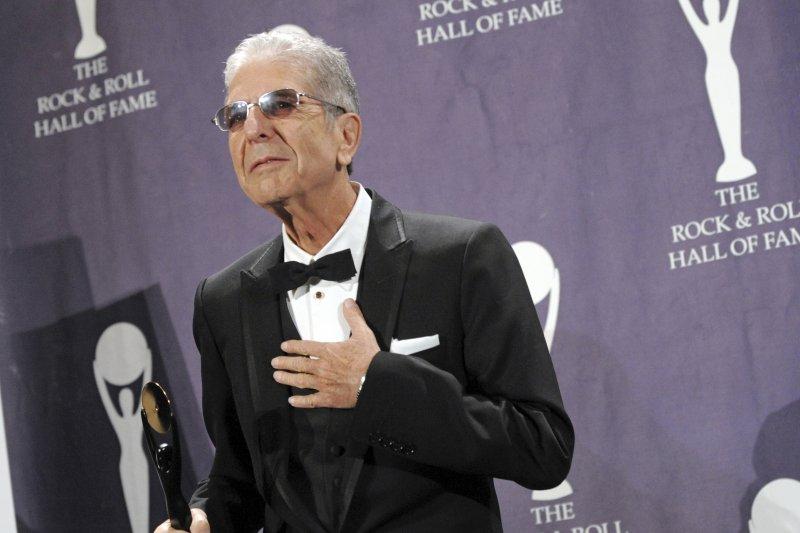 加拿大創作歌手李歐納.柯恩(Leonard Cohen)(AP)