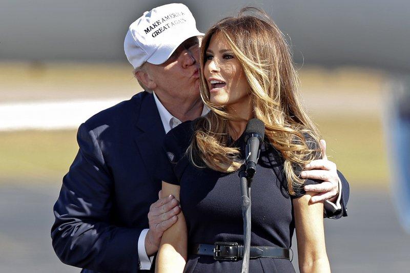 美國新任第一夫人梅蘭妮亞.川普(Melania Trump)(AP)