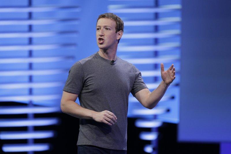 臉書創辦人祖克柏(Mark Zuckerberg)近日在臉書上坦承,許多人現在相信科技只會加強集權,並非分權化。(AP)